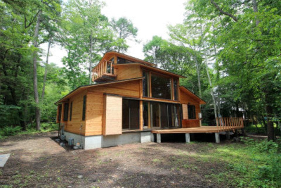 軽井沢 離れ山の別荘 注文住宅を長野で建てる美し信州建設の事例集
